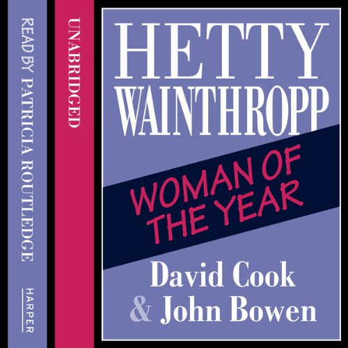 Hetty Wainthropp – Woman of the Year audiobook cover art