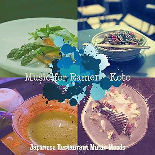 Japanese Restaurant Music Moods