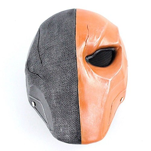 Super Villain Mask Full Head Mask Halloween Cosplay Costume Accessory Prop