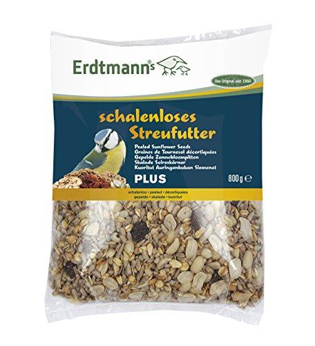 Erdtmanns schalenloses Streufutter Plus, 1er Pack (1 x 800 g)