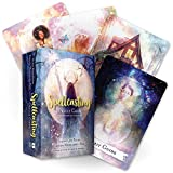 Limao Spellcasting Oracle Cards 48-Card Deck Divination Magic Tarot Cards Deck and Guidebook Party Playing Tarot