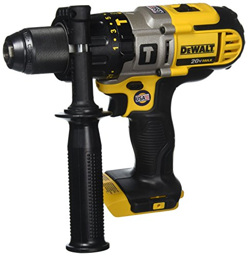 DEWALT DCD985B 20-Volt MAX Lithium Ion 1/2-Inch Hammer Drill/Drill Driver  (Tool Only)