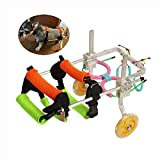 Dog Wheelchair Back Legs Medium/Large/Small Adjustable Pet Wheelchair Pet Scooter Cart for Older