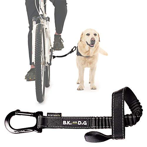 BIKE AND DOG Bicycle Dog: to take one or More Dogs by Bicycle. Patented Product (schwarz)