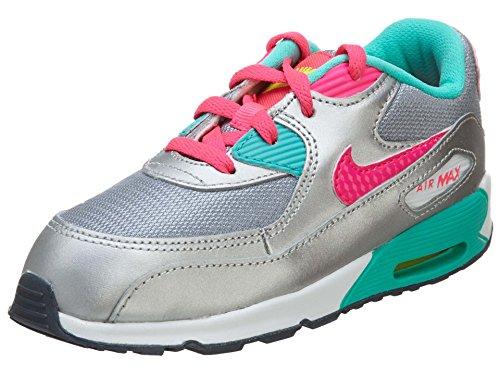 Nike Air Max Kinder Turnschuhe 90 2007 Sneaker Kinder - Silber, 27