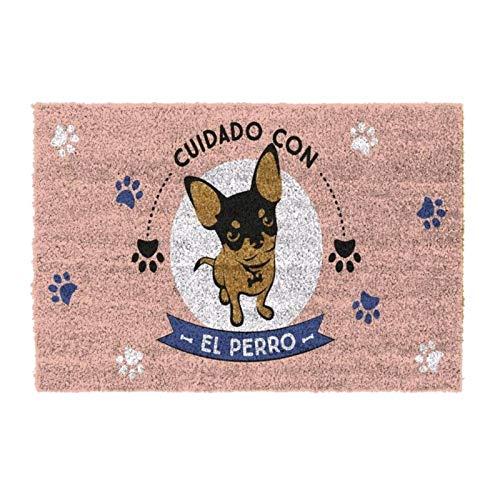 D,casa - Felpudo Original Cuidado Perro 40x70 cm