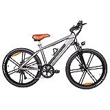 RXRENXIA Bicicleta Eléctrica, 36V 12.8A Batería De Litio Bicicleta Plegable Bicicleta De Montaña MTB Bici De E 17 * 26 Pulgadas De 21 Bicicletas De Velocidad Inteligente Bicicleta Eléctrica