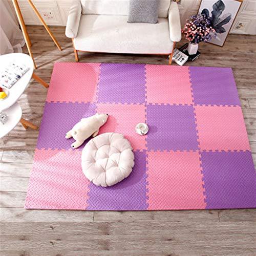 ALGWXQ Tapetes de Espuma de Enclavamiento para Bebés Durable Impermeable Playmat Usado para Sala, Patio Interior, Estudio de Baile, 1.0cm / 1.2cm / 2.5cm de Espesor, Variedad de Estilos