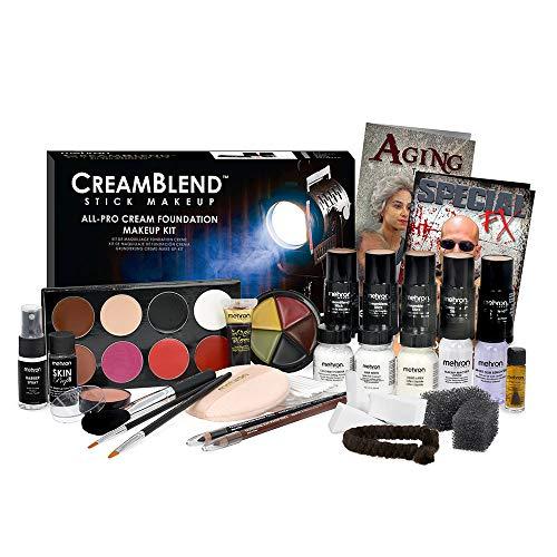 Mehron Makeup Creamblend All-Pro Student Makeup Kit (Medium)