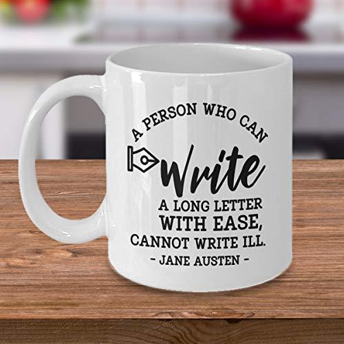 DKISEE Escribir una letra larga - Jane Austen