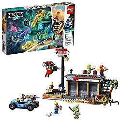 Download the LEGO Hidden Side app and point your phone at the Shrimp Shack Attack model to make this building set for kids come alive. Move the phone around to discover an ever-changing environment hidden around the model. This augmented reality toy ...