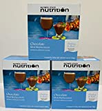 3 Box Value Pack (21 Servings) Nutmeg State Nutrition High Protein Meal Replacement Weight Loss Shake/Low-Carb Diet Shakes & Pudding Mix (15g Protein) - Chocolate - Low Carb, Low Fat, Kosher