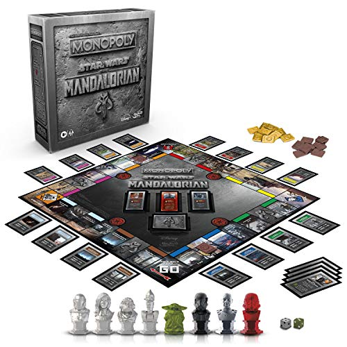 Monopoly: Star Wars The Mandalorian Edition Board Game, Protect The Child