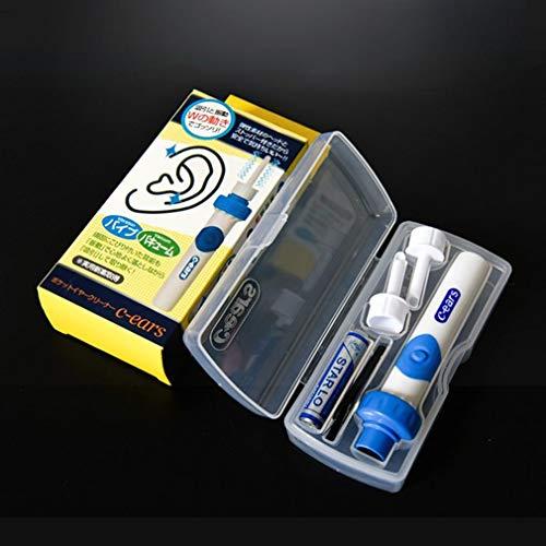 WEQQ Succión eléctrica Earpick Succión Cera Producto de succión útil para niños Grandes (Azul)