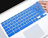 Acer Chromebook 15 Silicon Keyboard Cover Protector for Acer Chromebook 15 CB3-531 CB3-532 CB5-571 C910 Chromebook US Layout, Blue