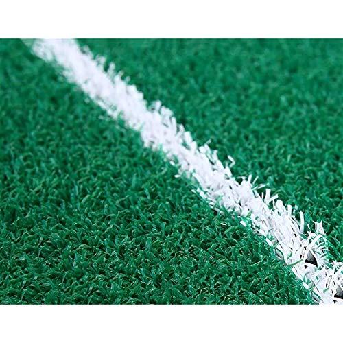 Esterilla de Golf portátil en para Entrenamiento Mats Golf Golf Golf Matting Mat Mats Golf Indoor Al aire libre Mini Mats Ejercicios Mats Swing Pad Green para la oficina interior del patio trasero (Ta