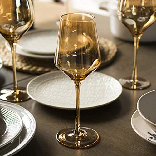 Bicchiere Bicchiere Da Vino In Cristallo Oro Trasparente Bicchieri Da Vino Rosso Bicchiere Da Succo Calice Bicchiere Da Bar Bar Scatti A Casa Calice Bicchieri Decanter A Forma Di U, Calice Di Vetro