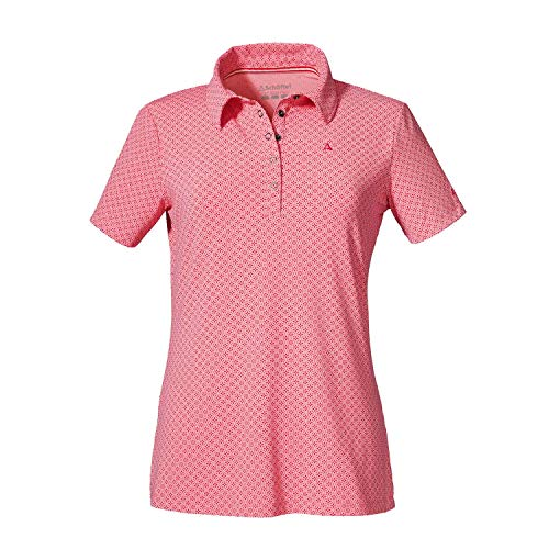 Schöffel Damen Altenberg1 Polo, Strawberry Ice, 46