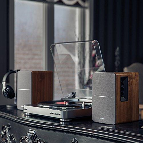 Edifier R1280T Powered Bookshelf Speakers-2.0 Active Near Field Monitors-Studio Monitor Speaker-Wooden Enclosure- 42 Watts RMS