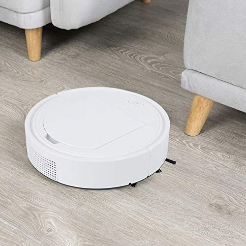 Best Prices! Robot Vacuum Cleaner,Intelligent Automatic Floor Dust Cleaning Sweeping Robot USB Recha...