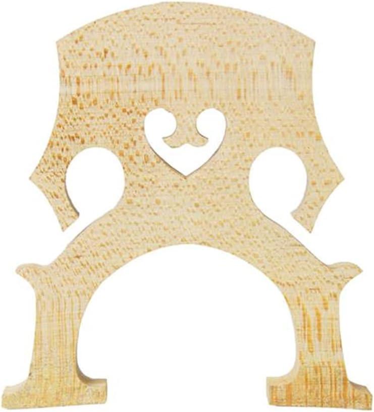 Max 60% OFF Maple Violoncello Bridge Cello Parts Size 4/4 Exqusite ...