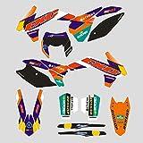 JFG Racing Custom Motocicleta Adhesivos Calcomanías Pegatinas Kit de Gráficos para K.T.M 125 200 250 300 350 450 500 EXC EXC-F XCW XC-W XCF-W 2014 2015 2016
