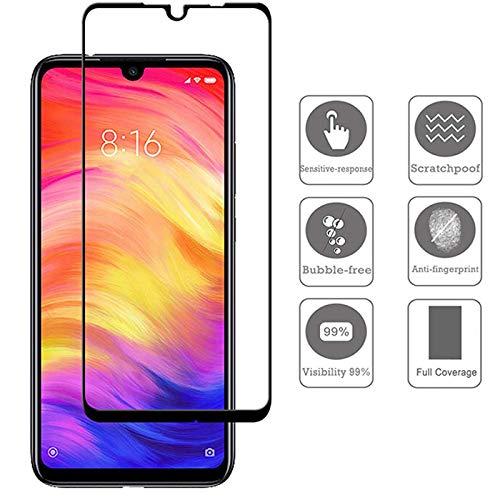 Película de Vidro Temperado 3D Glass Blindada Xiaomi Redmi Note 7 - Bordas Pretas