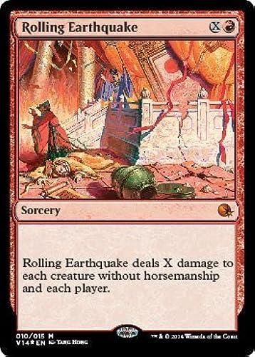 echa un vistazo a los más baratos Magic  the Gathering Gathering Gathering - Rolling Earthquake (010 015) - From the Vault  Annihilation - Foil by Magic  the Gathering  comprar marca