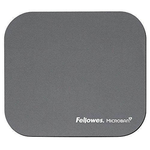 Fellowes Microban antibakteriell rechteckig Mauspad silber