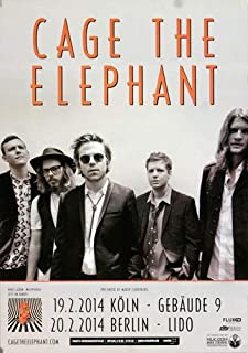 Cage The Elephant - Melophobia, Köln & Berlin 2014