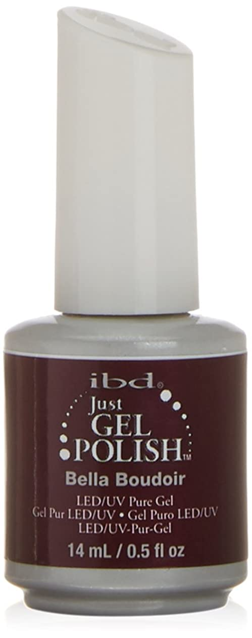 名前を作る地雷原一般的なibd Just Gel Nail Polish - Bella Boudoir - 14ml / 0.5oz