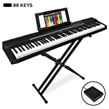 Best Choice Products 88-Key Full Size Digital Piano Set w/Semi-Weighted Keys, Stand, Sustain Pedal
