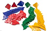hand2mind 85104 Polydron Triangles (Pack of 100)