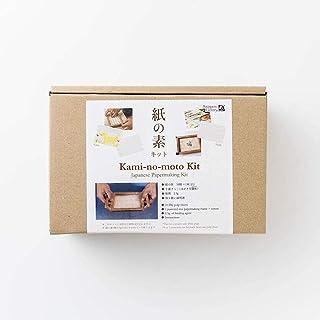 アワガミファクトリー 紙の素キット 紙漉き道具と材料のセット (白)