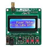 Rilevatore Misuratore di Potenza Digitale RF, Logaritmico RF Amplificatori Misuratore -75‑ + 16dbm Modulo di Attenuazione Frequenza Retroilluminazione Auto