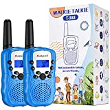 Funkprofi Walkie Talkies for Kids, 3 KMs Long Range 22 Channels Two Way Radios for Boys and Girls, Walky Talky for Age 3-12 Years Old Kids, Outside Play Toys for Hiking Camping (Blue)