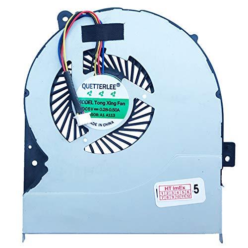 (Version 1) Lüfter Kühler Fan Cooler kompatibel für ASUS X550LB, X550LC, X550LD, X550LDV, X550LN, X550LNV, X550V, X550VA, X550VB