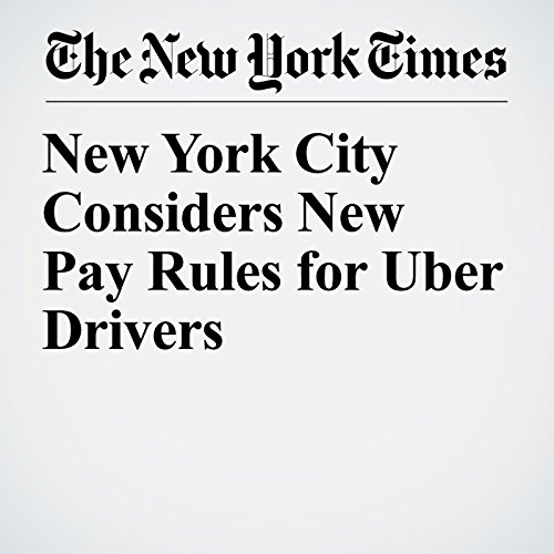 New York City Considers New Pay Rules for Uber Drivers copertina