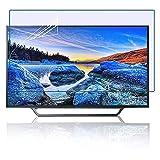 Película de filtros de luz azul Protector de pantalla de TV de 32 pulgadas, fácil de instalar, previene la radiación, alivia la fatiga visual, anti-uv/antirreflejo / 704 * 395mm
