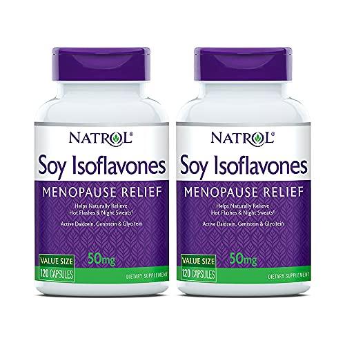 Natrol Soja Isoflavones - 120 kepsar, 100 g