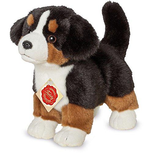 Teddy Hermann 919308 Berner Sennenhund Welpe stehend Plüsch, 23 cm