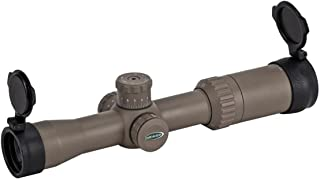 Weaver 849780 Optics Kaspa Tactical Scope, 1.5-6 x 32mm, Dark Earth