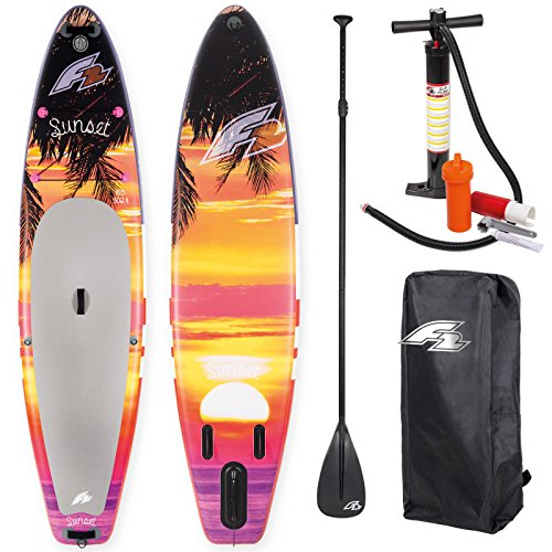 F2 Sup Sunset Red 10,5