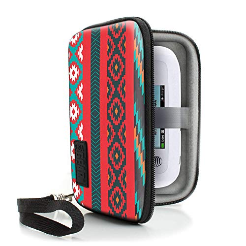 USA Gear Portable WiFi Hotspot for Travel Carrying Case with Wrist Strap - Compatible with 4G LTE Wi - http://coolthings.us