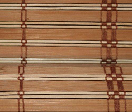 VERDELOOK Africa, Tapparella in Listelli di Bamboo, 150x300 cm, Marrone Chiaro