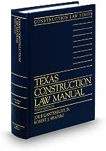 texas construction law manual