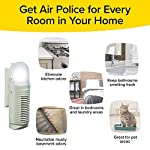 BulbHead Air Police Advanced Ionic Air Purifier, Compact Odor Eliminator Plug in Air Purifier with Permanent Stainless… 14 ATTRACTS & TRAPS: Warning the air in your home looks clean to the naked eye, but may be contaminated with inanimate microscopic particles — until now! Air Police attracts and collects unhealthy particles from the air! For fresher, cleaner air guaranteed! POWERFUL & PORTABLE PLUG-IN AIR PURIFIER: Air Police plugs right into your wall outlet so you can easily move it room to room while it takes up very little space! WORKS 27/7: unlike air freshener sprays that just mask odors, Air Police neutralizes the air your breath 24 hours, 2 days a week. Just plug it in and it goes to work!