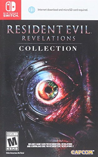 Resident Evil Revelations Collection - Nintendo Switch (US IMPORT) Uncut