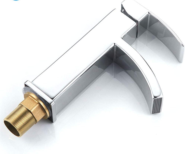 Basin Mixer Tap Bath Fixtures Wash Basinsinkkitchen Kitchen, Bathroom, Bathroom, Faucet, Mixed Water, Cold and Hot Single Hole Basin Faucet.