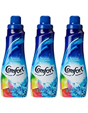 Comfort Concentrated Fabric Softener Iris & Jasmine, 750 ml (Pack of 3)